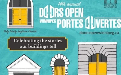 New Additions to This Year's Doors Open Winnipeg