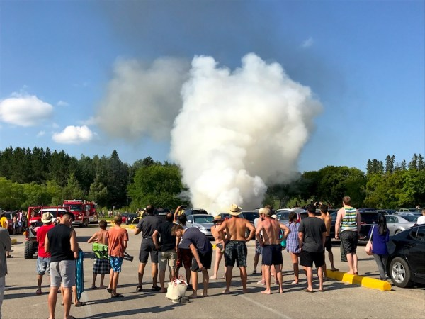 Birds Hill Park Fire