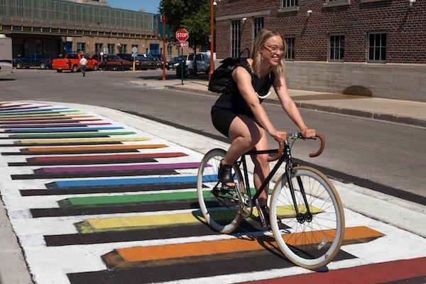 Larissa Peck - The Forks Cycle Track