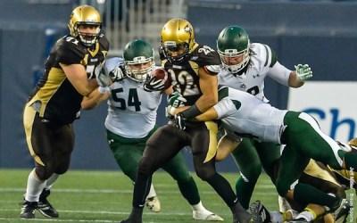 Bisons Drop Football Home Opener to Saskatchewan 44-23