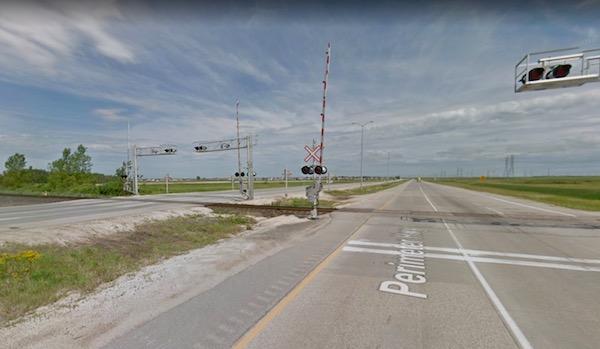 Perimeter Highway - Railing Crossing