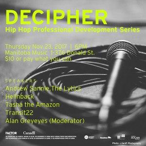 Manitoba Music Decipher