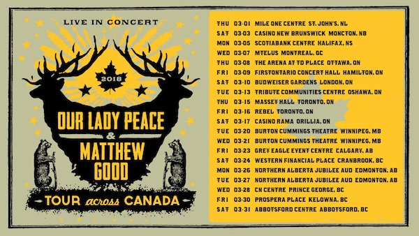 Our Lady Peace - Matthew Good