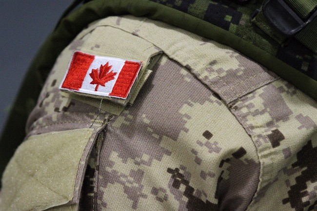 Canada Flag - Soldier