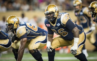 Blue Bombers Sign All-Star OT Stanley Bryant to Extension