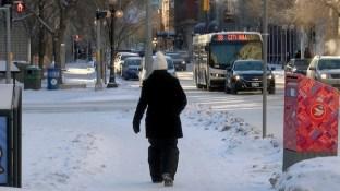 Winter Pedestrian