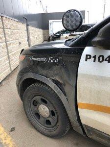Brandon Police Tire