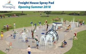Freight House Spray Pad