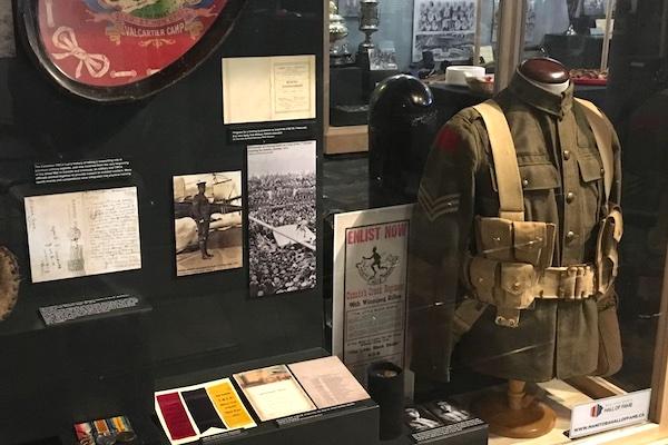 Great War Sports Exhibit