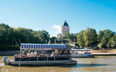 Splash Dash Tours Launches for the Season at The Forks