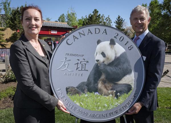 Panda Bear Coin - Royal Canadian Mint