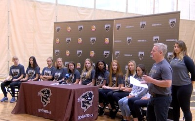 Bisons Recruit Nine to 2019-20 Women's Volleyball Squad