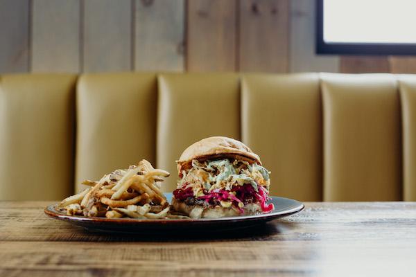 Brazen Hall Burger