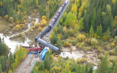 Investigation Finds High Water Linked to Fatal Train Derailment in Manitoba