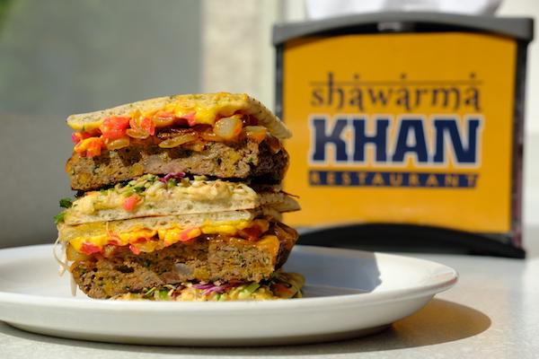 Shawarma Khan Burger