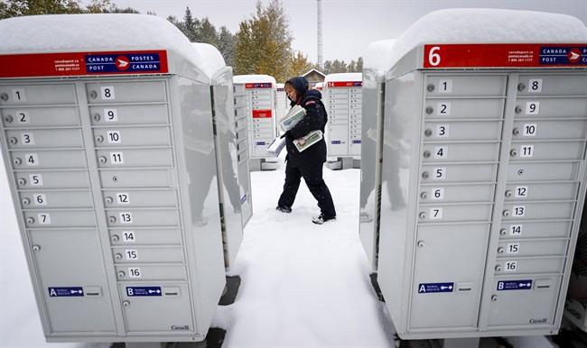 Canada Post - Snow