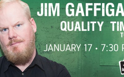 Comedian Jim Gaffigan to Play Bell MTS Place in January