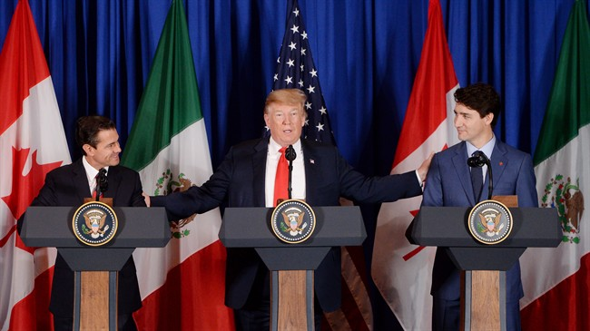 Trudeau - Trump - G20