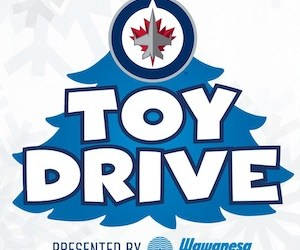 Winnipeg Jets Toy Drive Accepting Donations for Christmas Cheer Board