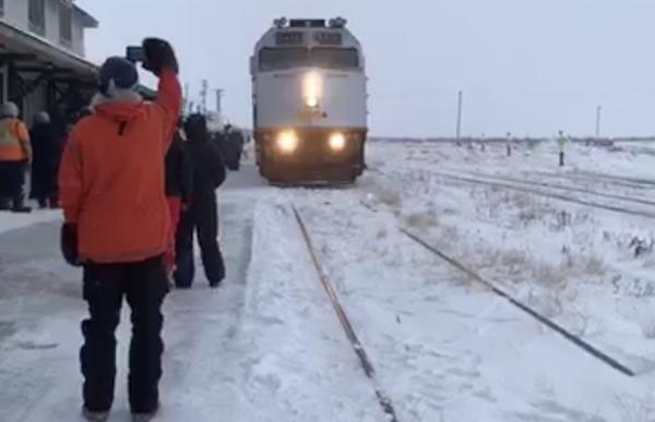 Churchill Passenger Train