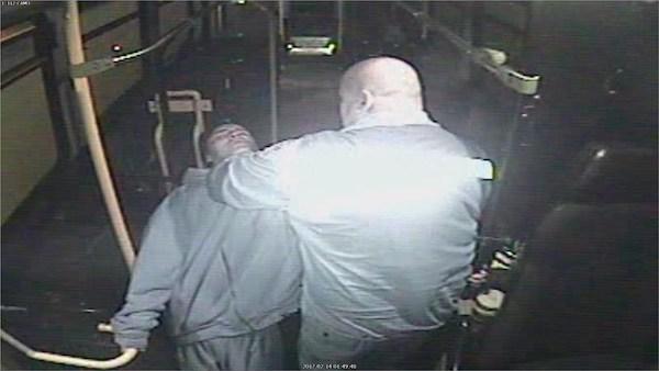 Irvine Fraser Bus Driver Attack