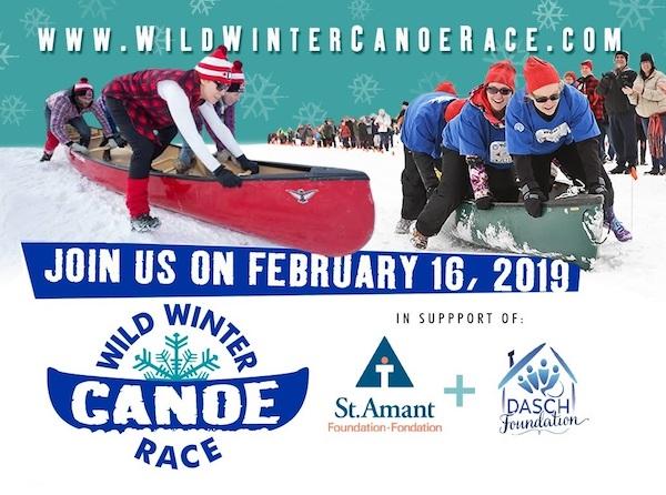 Wild Winter Canoe Race