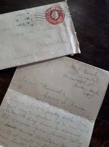 First World War Letter
