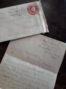 First World War Letter