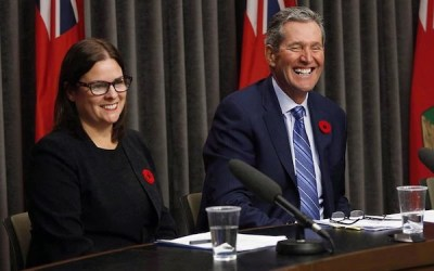 Former Health Minister Stefanson Vies for PC Leadership