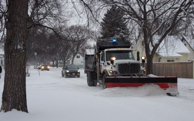 Winnipeg to Plow Major Streets as Salting Operations Continue