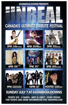 Unreal, Canada's Ultimate Tribute Festival