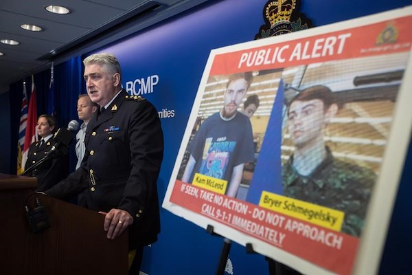 B.C. Murder Suspects
