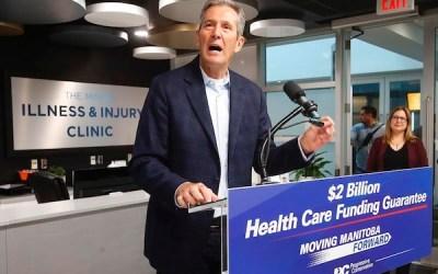 Manitoba Health Coalition Hosts Debate, Pallister Yet to Accept Invite