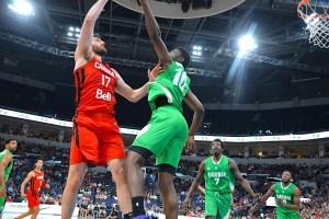Canada - Nigeria Basketball