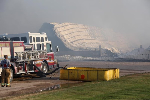 Dairy Farm Fire