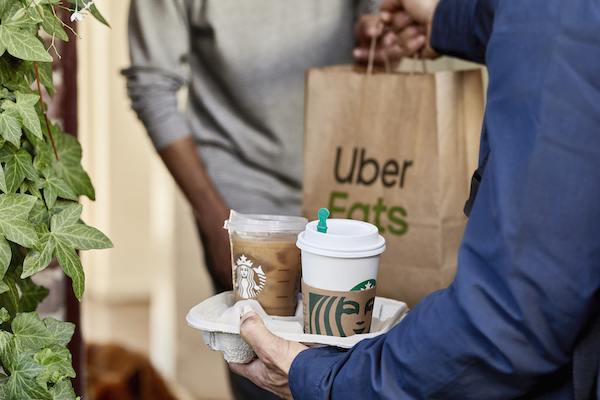 Starbucks - Uber Eats