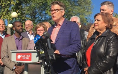 Liberals Promise New Spending, Tories Rally on Manitoba Campaign Trail