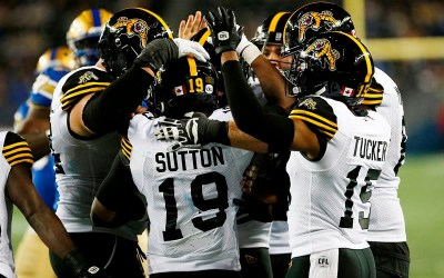 Blue Bombers Dealt 33-13 Loss as Tiger-Cats' Dane Evans Throws Three TD Passes