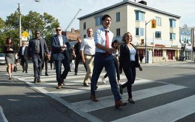 Trudeau, Scheer Hit the Road Again for Second Full Week of Federal Campaign