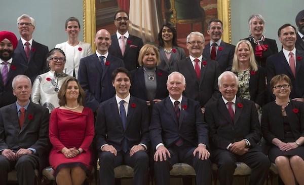 Justin Trudeau Cabinet