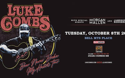 CONTEST: Win Tickets to Luke Combs at Bell MTS Place