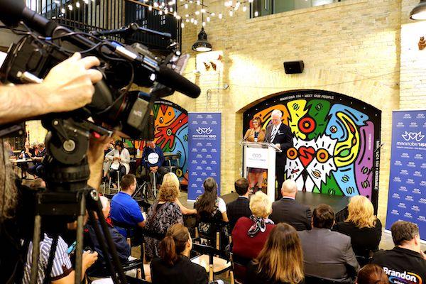 Manitoba 150 Press Conference