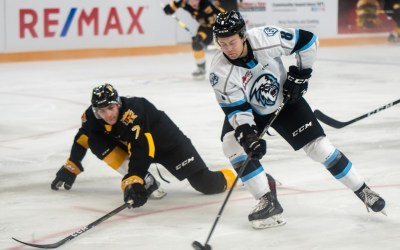 Teply, Lambos Record Two-Point Nights in Ice 3-2 Victory Over the Wheat Kings