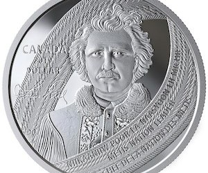 Mint's New Coin Honours Founder of Manitoba and Metis Leader Louis Riel