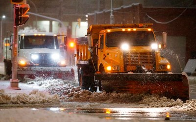 Winnipeg to Begin Snow-Plowing Residential Streets