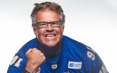 Dancing Gabe Heading to the Grey Cup with Blue Bombers