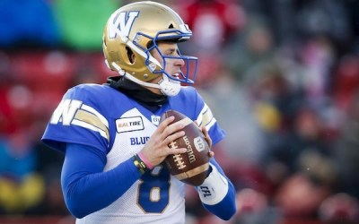 Blue Bombers Extend QB Zach Collaros to Two-Year Deal