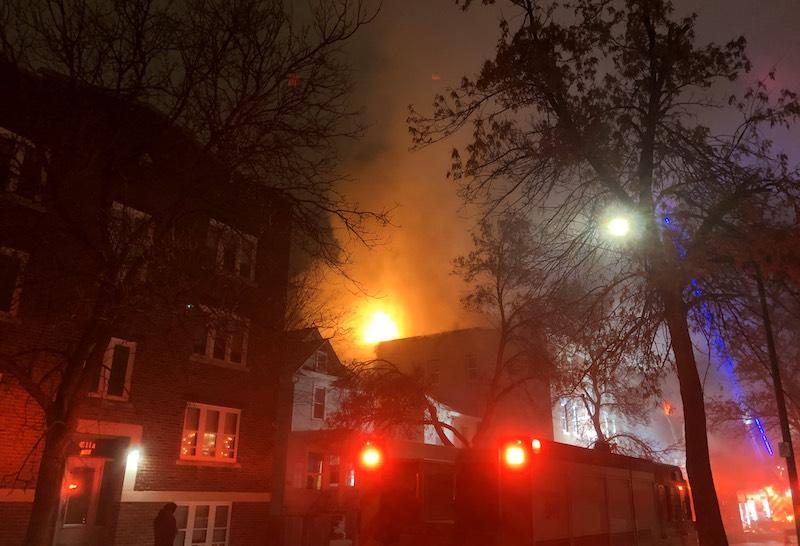 Agnes Street Fire