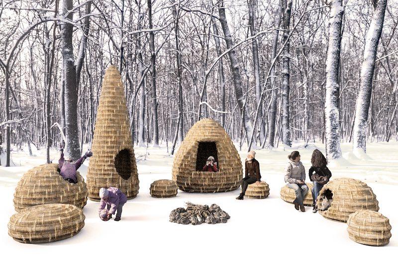 Forest Village Warming Hut