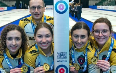 Manitoba Goes Unbeaten to Capture Canadian Junior Women's Curling Title
